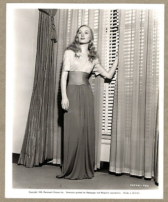 Veronica Lake '42 Original Photo I. Magnin Costume Design Paramount