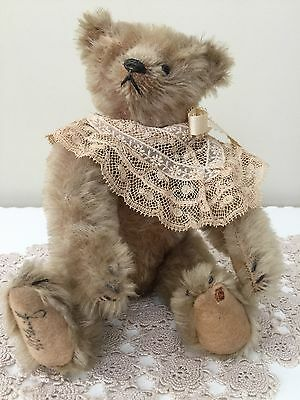 """ANTIQUES EARLY 1900's """" SIGNED, STEIFF TEDDY BEAR"""""""