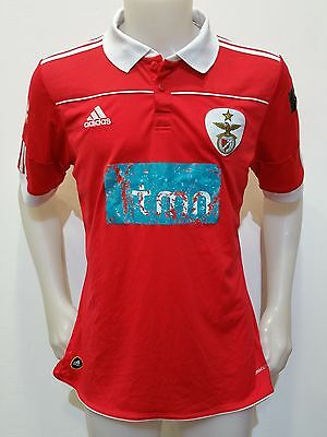 Maglia Shirt Calcio Benfica Sagres Tmn Tg.m Portugal Jersey Football Old S375