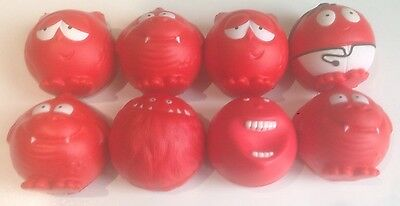 Red Nose Day 2017 - Comic Relief Set of 8 Red Noses