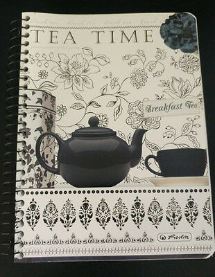 "Spiralblock Herlitz A5 ""Tea Time"""