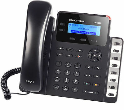 MAKE ME AN OFFER Grandstream GXP1628 2 Line Giga Bit VoIP IP Phone SMB