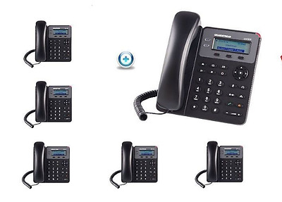 MAKE ME AN OFFER Bundle of 6 Grandstream GXP1610 2-Line HD SMB SIP Phone