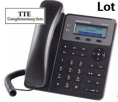 MAKE ME AN OFFER 50-PACK New Grandstream GXP1610 2-Line HD - SIP IP Phone
