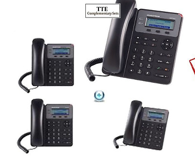 MAKE ME AN OFFER Bundle of 4 Grandstream GXP1610 2-Line HD SMB  SIP Phone