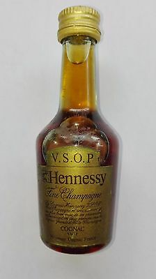 Vintage Vsop V.s.o.p. Hennessy Cognac France Mini Miniature Bottle Rare