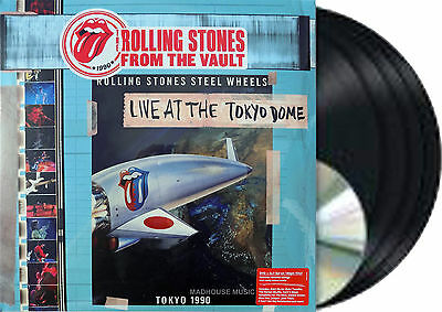 The Rolling Stones - From The Vault: Live At The Tokyo Dome 1990 BOX SET 4LP+DVD