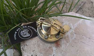 Сustom Gas tank caps brass cover Harley Davidson, Bobber, Chopper, Cafe Racer