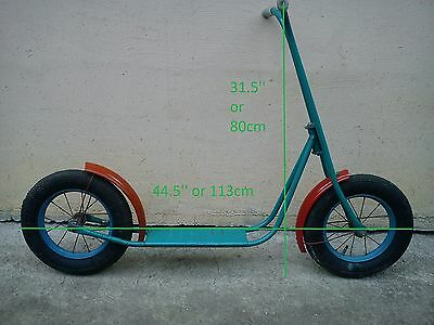 Rare Vintage Russian Kid Scooter made in USSR in the 60's