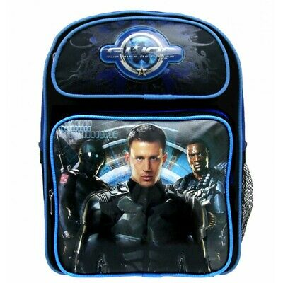 "GI Joe Large School Backpack 16"" Book Bag The Rise of Cobra-2948"