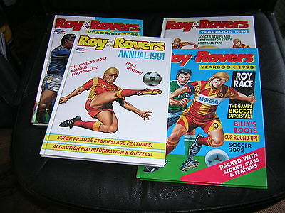 ROY of the ROVERS Annuals - 1991, 92, 93 & 94