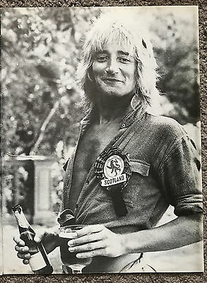 ROD STEWART - 1978 full page UK magazine poster