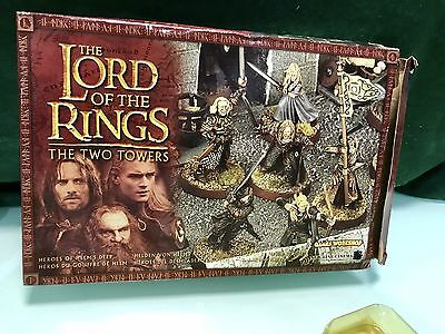 The Lord of the Rings  The Two Towers  Heroes of Helm's Deep  Figurines & Stands