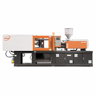 Himalia HM128 Servo Motor Plastic Injection Molding Machine with Dryer Hopper an