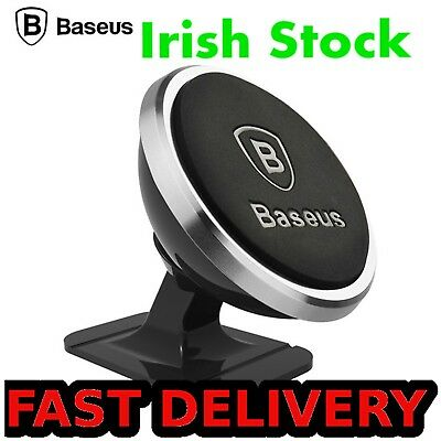 BASEUS phone holder for car magnetic mobile universal 360 iphone xiaomi mount