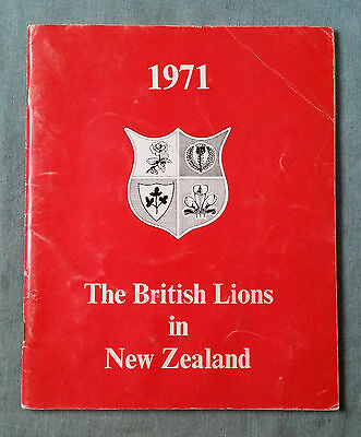 The British Lions in New Zealand 1971 Rugby Union Writers' Club pay tribute