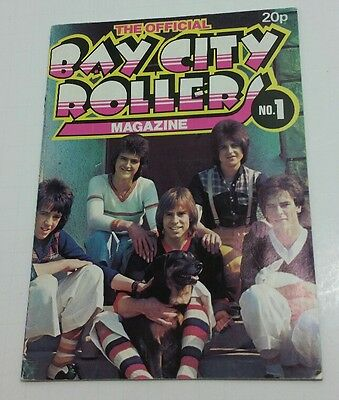 THE BAY CITY ROLLERS MAGAZINE No  1  DECEMBER 1974 Great Condition