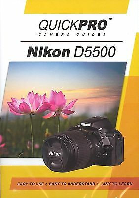 Nikon D5500 by QuickPro Camera Guides ( 85 minute Tutorial DVD)
