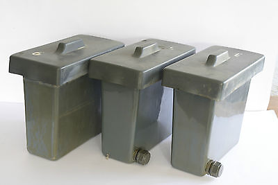 3 cuves developpement N/B- collodion 6 Litres - developing tank Kolen-Delumeau