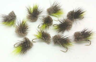 Mackay's 9 Chart Muddler's,Fly Fishing Trout Flies Trout Buzzer Trout Dry Flies