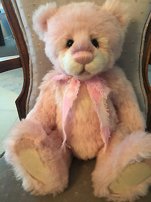 Charlie Bears Blancmange 2016 Isabelle Mohair Collection FREE US SHIP