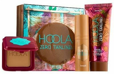 Benefit Get Your HOOLA On Dew the Hoola, Zero Tanlines Self Tanner w/Applicator