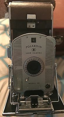 1954 Polaroid 95 Land Camera w/case,original owner's manual and accessories.