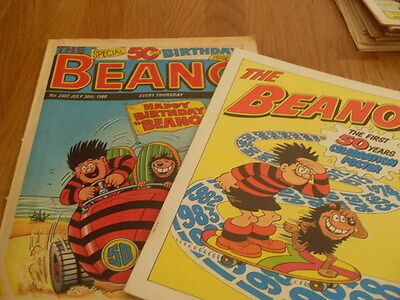 The Beano No 2402 July 30Th 1988 + Poster