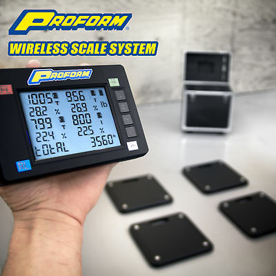 Proform 67644 4 Scale Digital 7000 lb. Wireless Vehicle Weighing System