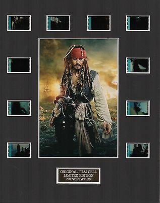 Pirates of the Caribbean 3 35mm Film Cell Display
