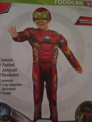 Cosplay Iron Man 2T Marvel Avengers Costume Nwt Costumes/theater