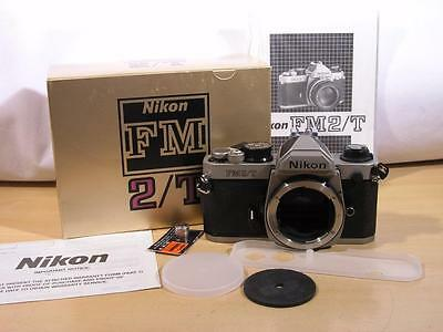 New Nikon FM2/T Titanium 35mm SLR Body w/Box
