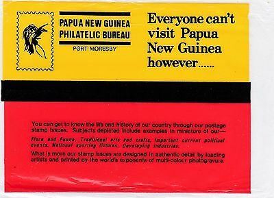 Papua New Guinea  100 Stamps Blocks 4 + Fdc-Stamp Pack -Souvenir Folder    Mnh