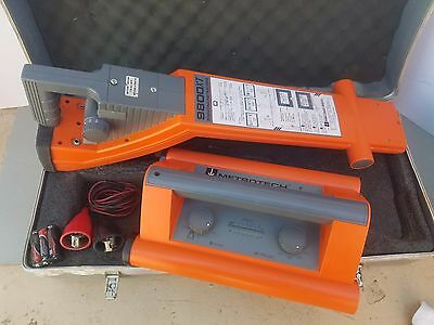 metrotech  9860XT Transmitter, 9860XT reciever, Cable & Pipe locator