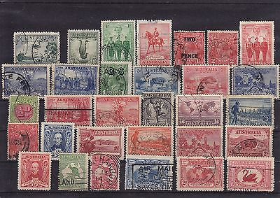 Australia - Large selection of Early stamps until 1950's