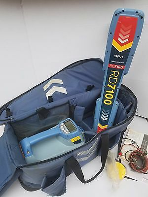 Radiodetection RD7100 DL TX-5 Cable Pipe Locator very Clean
