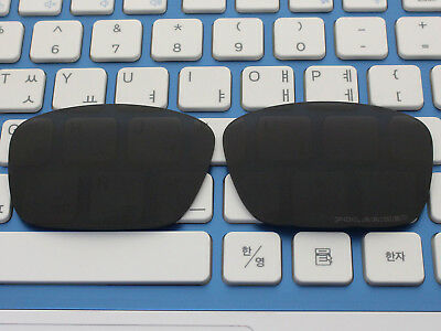 Replacement Black Polarized Lenses for Fuel Cell Sunglasses OO9096