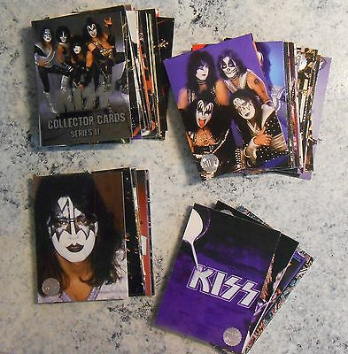KISS cornerstone Series 1 Silver foil 54 different cards 1998