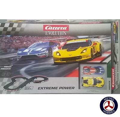 Carrera Evolution Extreme Power Slot Car Set 25218 Brand New