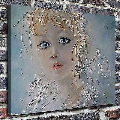 """12""""x16""""little angel Painting HD Print on Canvas Home Decor Wall  Picture posters"""