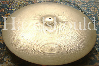 """SOUNDFILE! ULTRA RARE Vintage Zildjian CANADIAN K 22""""  Ride! 3214 Grams! EXCD!"""