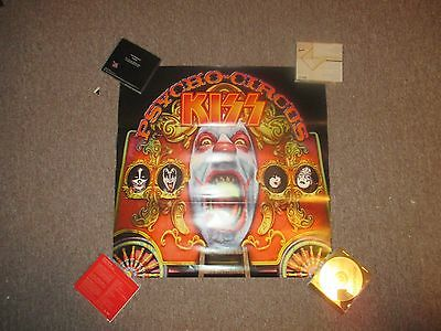"""Kiss Psycho Circus Promo Poster, Double Sided, 24""""x24"""", Near Mint (Mercury 1998)"""