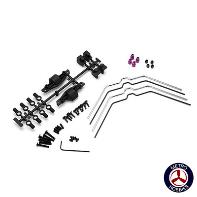 HPI Sway Bar Set Front Rear Savage X 102538 Brand New