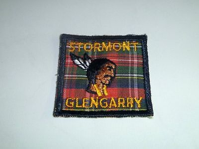 BOY SCOUTS Stormont Glengarry Patch