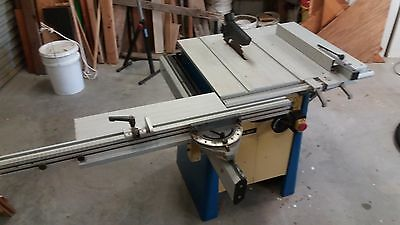 Table saw Scheppach 2010  with sliding table