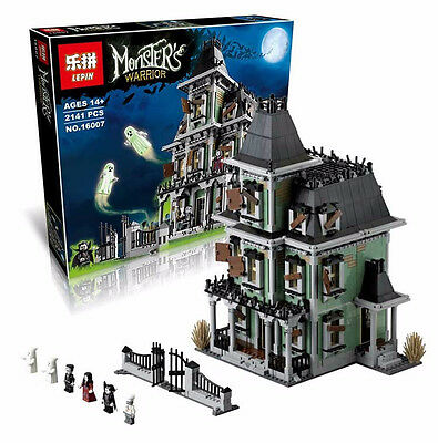 Monster Fighters Haunted House Lego Compatible Set 2141 pcs 10228