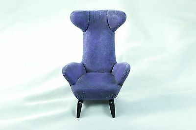 Purple Sloped Wingback Chair #24023 Take A Seat Raine & Willitts Designs 1999