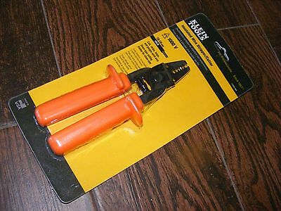 Klein Tools 11045-INS Insulated Wire Stripper/Cutter - 10-18 AWG Solid
