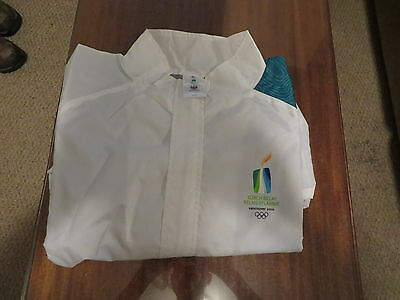 Vancouver Canada 2010 Official Torch Relay Jacket Hudson Bay Mens Xl