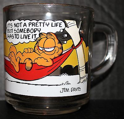 Vintage 1978 Garfield Odie Mcdonalds Mug Jim Davis United Feature Syndicate